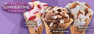 Cold Stone Creamery Celebrates the Launch of Summer with Five Summertime Creation Sensations