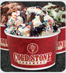 Not Your Ordinary Ice Cream Store , Cold Stone Creamery, South Florida
