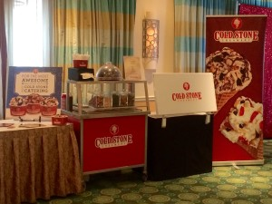 Make your trade show booth THE Destination - Cold Stone3