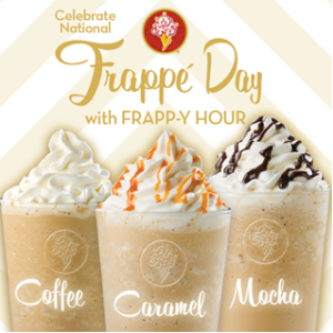 Sip! Sip! Hooray! We're Celebrating National Frappe Day on coldstonesouthflorida.com