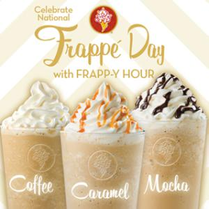 Sip! Sip! Hooray! We're Celebrating National Frappe Day